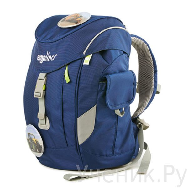"""Детский рюкзак Ergobag для дошкольников модель """"ERGOLINO+"""" Technika Ergobag (Германия) ERL-MAX-001-301"""