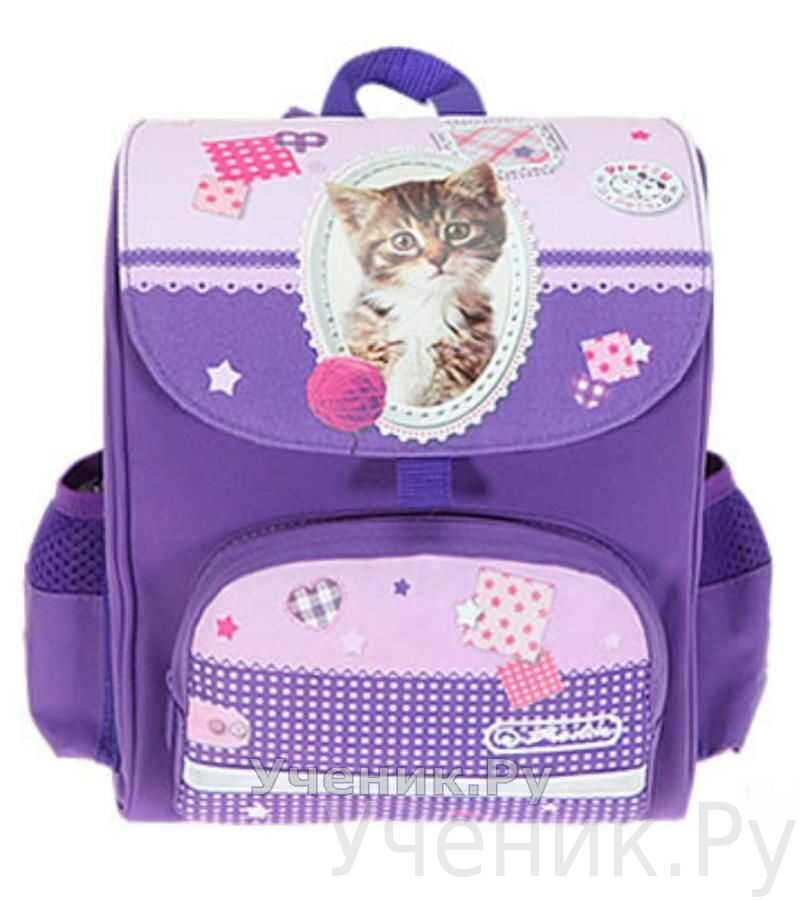 "Ранец детский Herlitz ""Mini Softbag"" Pretty Pets Cat Herlitz (Германия) 11280369"