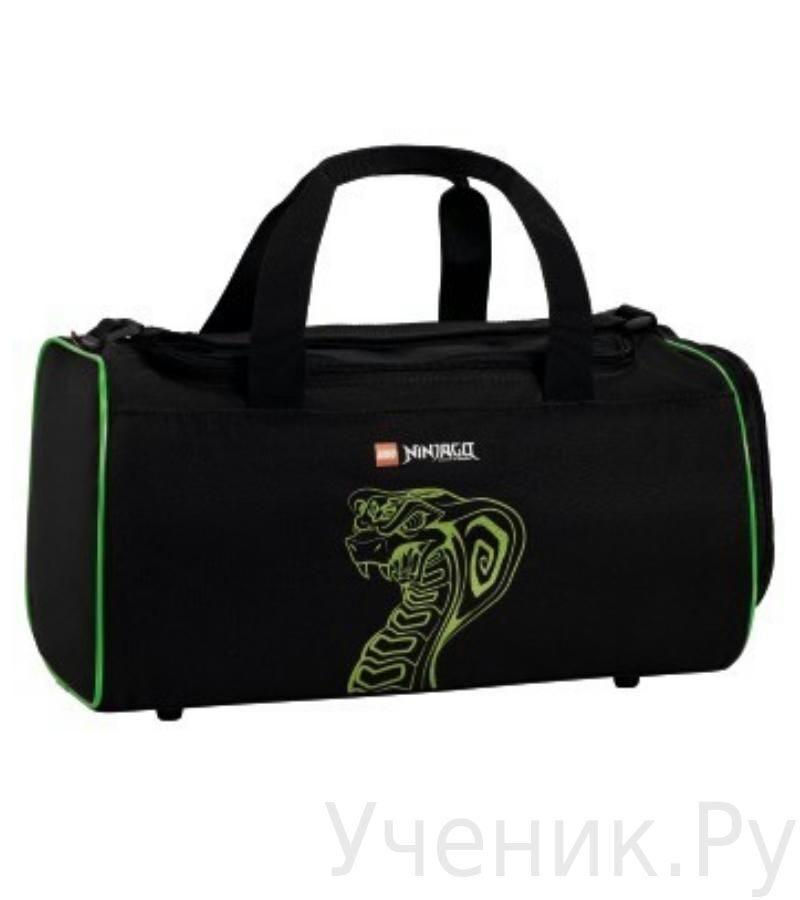 "Спортивная сумка Lego Friends ""Ninjago Green"" Hama (Германия) 126360"