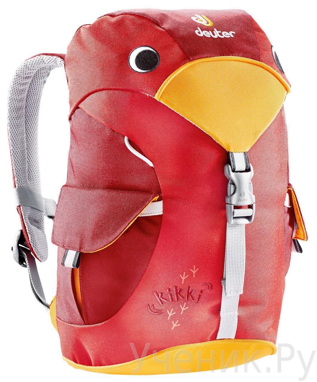 """Детский рюкзак Deuter """"Kikki"""" красный Deuter (Германия) 36093-5520"""
