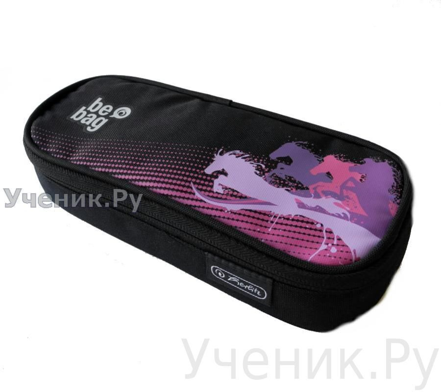 "Пенал школьный Herlitz SOFT CASE CUBE ""Power Horses"" Herlitz (Германия) 11359619"