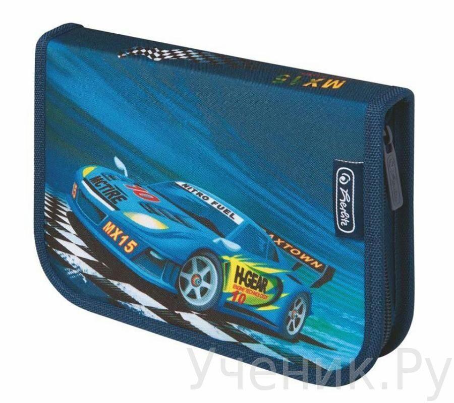 """Пенал школьный Herlitz """"SUPER RACER"""" (31 предмет) Herlitz (Германия) 11438652"""