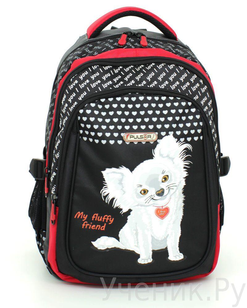 """Школьный рюкзак """"Pulsar"""" MY FLUFFY FRIEND 8049-153"""