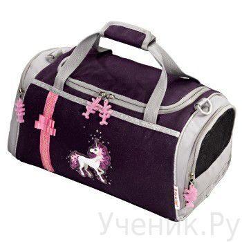 "Спортивная сумка Hama (Хама) ""Unicorn"" баклажановый/серый Hama (Германия) 103168"