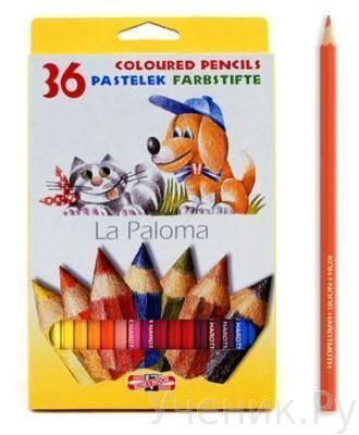 """Цветные карандаши """"Koh-i-Noor"""" """"Собаки и кошки"""" 36 цветов Koh-i-noor (Чехия) 3595/36"""