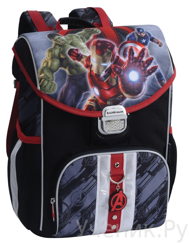 "Школьный ранец Erich Krause (Эрих Краузе) модель GENERIC ""Avengers-2"" 37807"