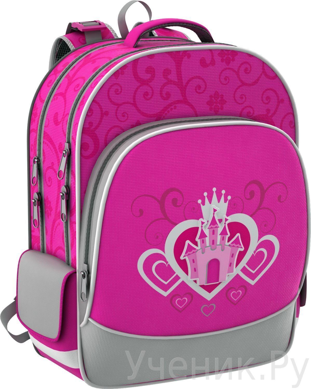 """Школьный рюкзак Erich Krause (Эрих Краузе) """"Замок розовый"""" Erich Krause (Германия) 39212"""