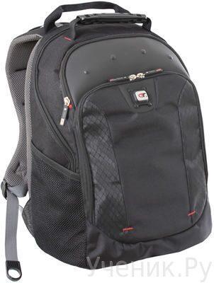 """Молодежный рюкзак Gino Ferrari """"JUNO"""" черный с серым Gino Ferrari (England) GF501"""