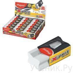 Набор ластиков для карандашей MAPED (Франция) mini X-pert для точного стирания 3шт. 116311