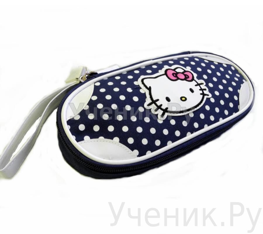 "Пенал школьный ""Hello Kitty"" синий 503-0029-HK-CB"