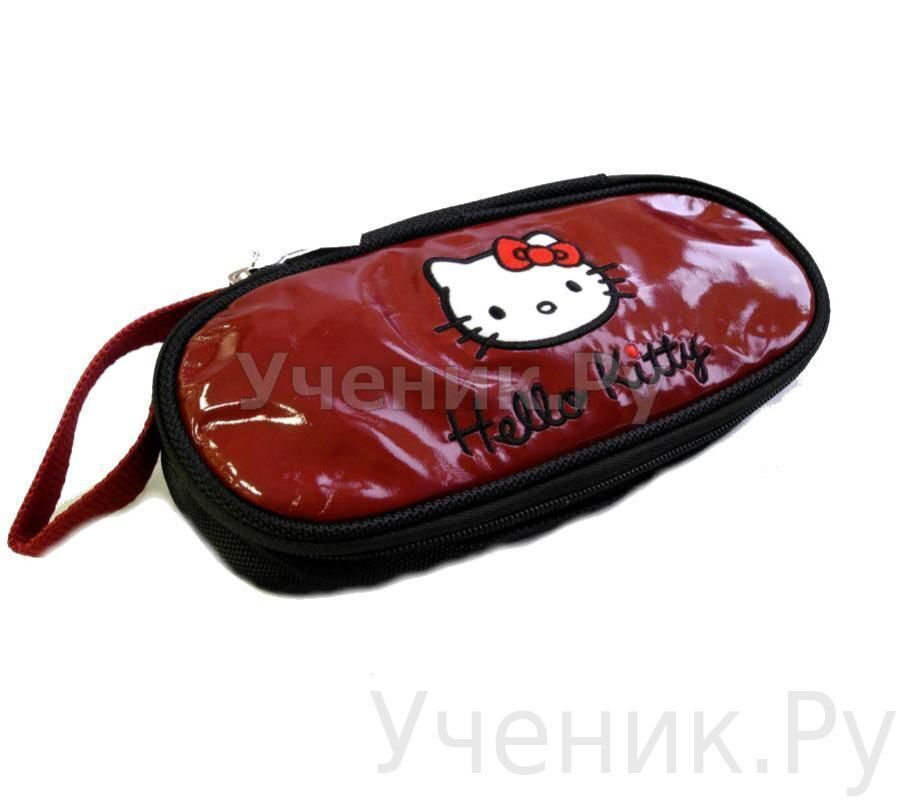 "Пенал школьный ""Hello Kitty"" бордовый 503-0029-HK-CR"