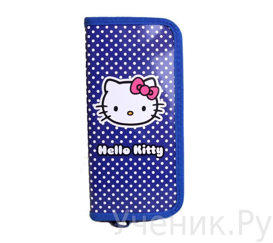 """Пенал школьный """"Hello Kitty"""" синий 503-0001-HK-CB"""