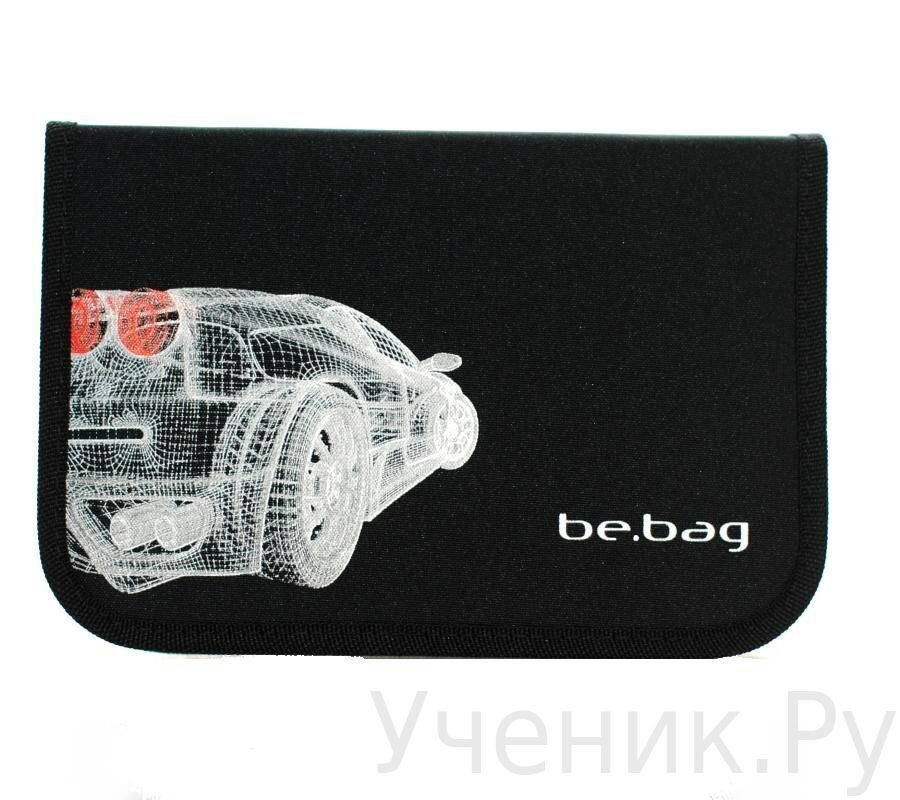 """Пенал школьный Herlitz Be.Bag """"Black Car"""" (пустой) Herlitz (Германия) 11438504c"""