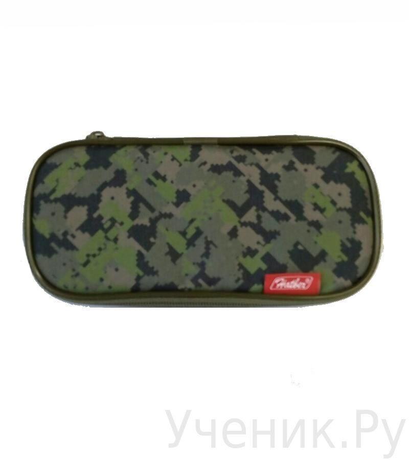 """Пенал школьный Hatber """"МИЛИТАРИ"""" NPn_14228"""