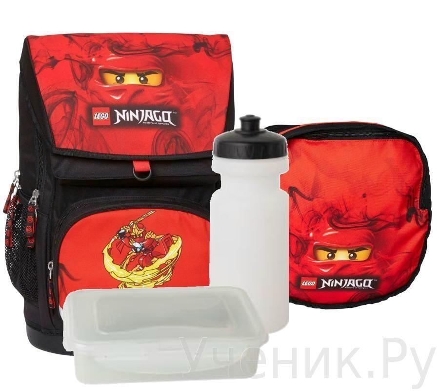 """Школьный рюкзак LEGO модель """"Large School Bag"""" NINJAGO KAI Lego (Дания) 16042"""