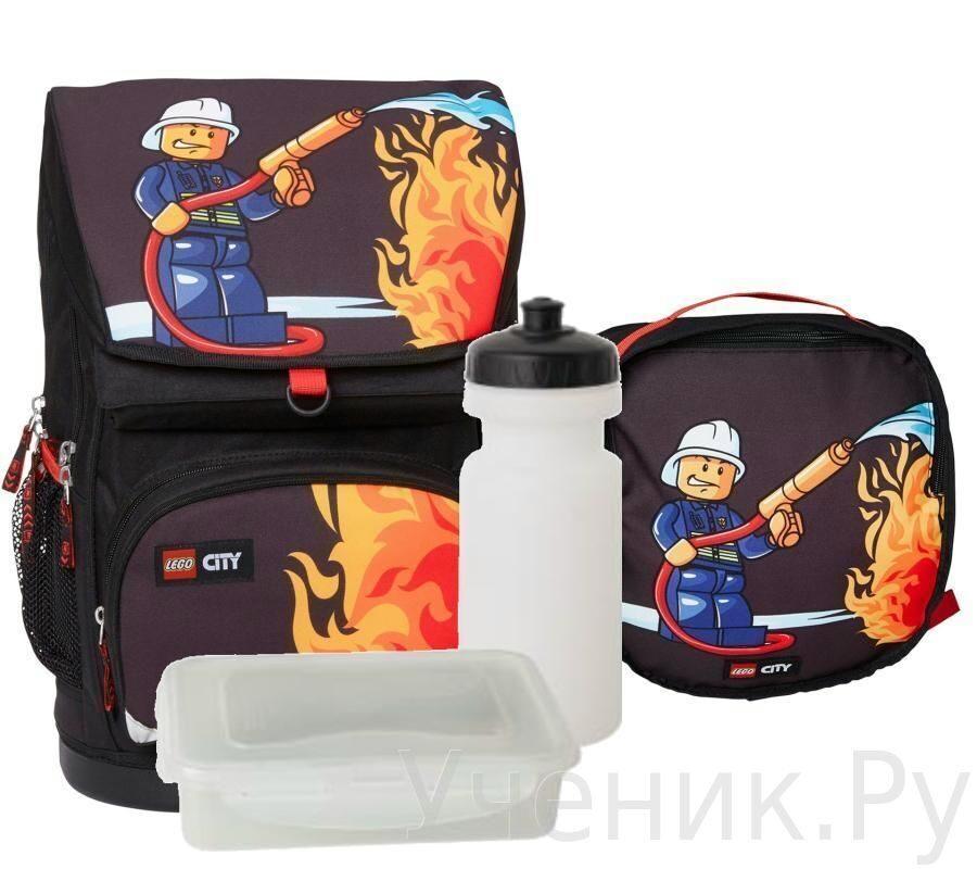 """Школьный рюкзак LEGO модель """"Large School Bag"""" CITY FIRE Lego (Дания) 16041"""