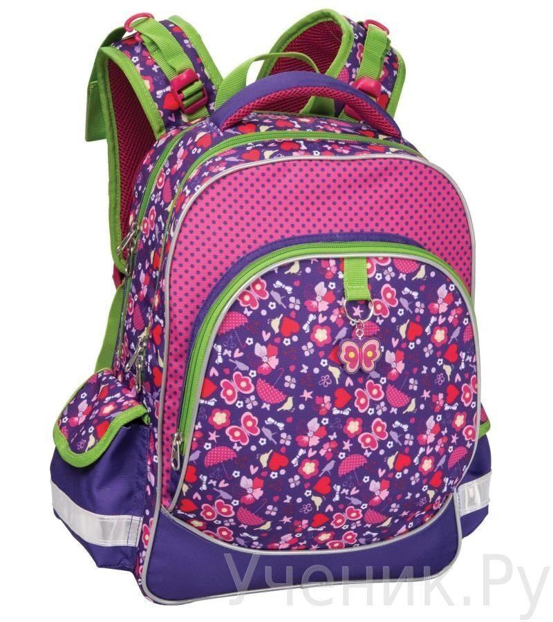 2859e4f799fa Школьный рюкзак Erich Krause (Эрих Краузе) Vivid Dreams фиолетовый