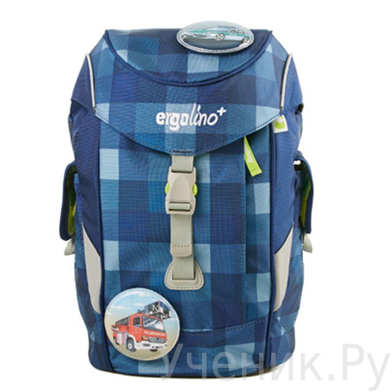 """Детский рюкзак Ergobag для дошкольников модель """"ERGOLINO+"""" Karo Schniekokaro Ergobag (Германия) ERL-MAX-001-920"""