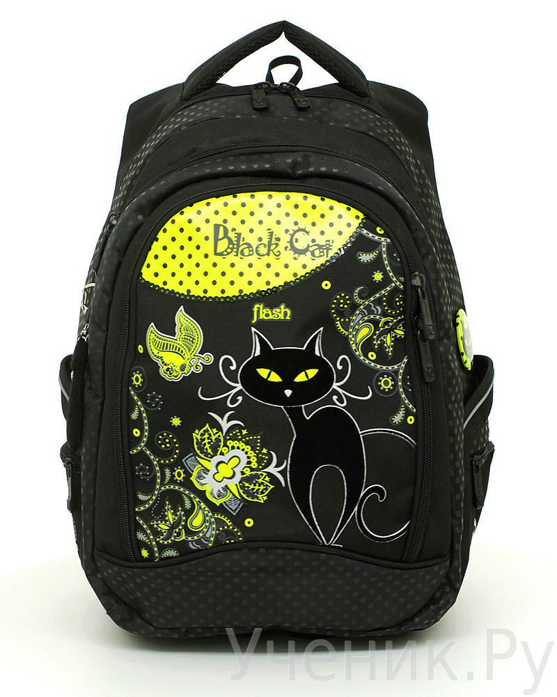 """Школьный рюкзак """"Steiner"""" Black Cat 11-202-5"""
