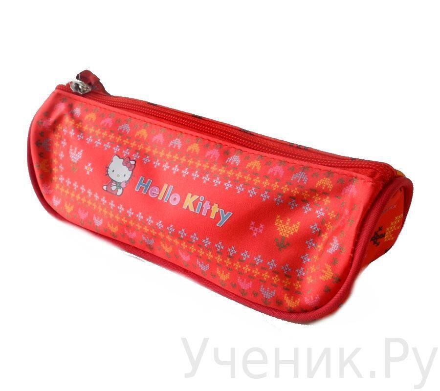 """Пенал-тубус школьный """"Hello Kitty"""" Fairy красный 503026-HK-FR"""