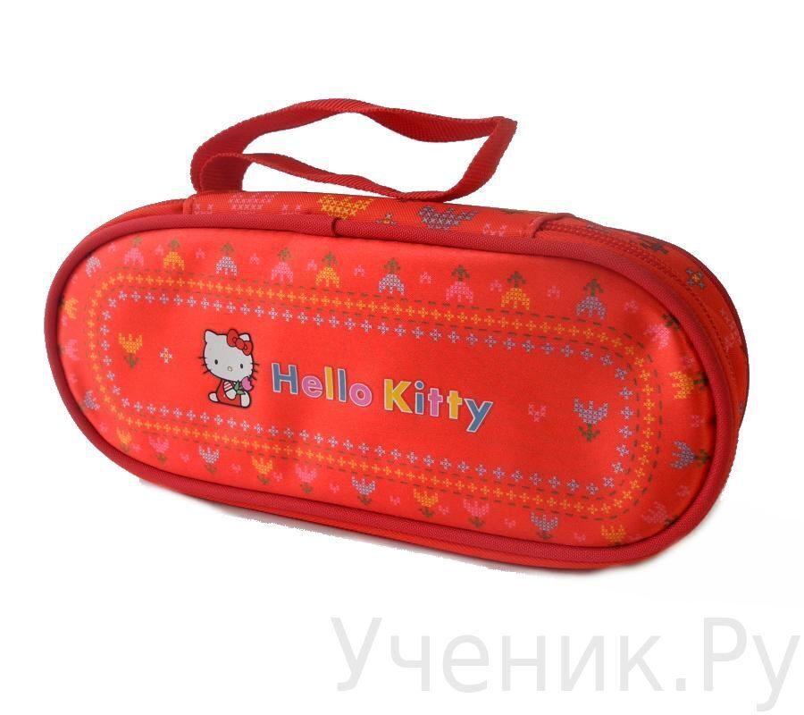 """Пенал-хардбокс школьный """"Hello Kitty"""" Fairy красный 503029-HK-FR"""