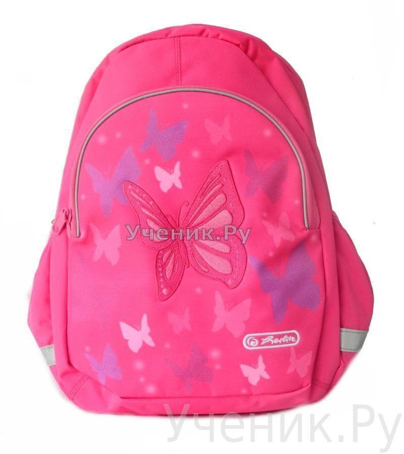 """Детский рюкзак Herlitz """"Бабочка"""" розовый Herlitz (Германия) 11352507"""