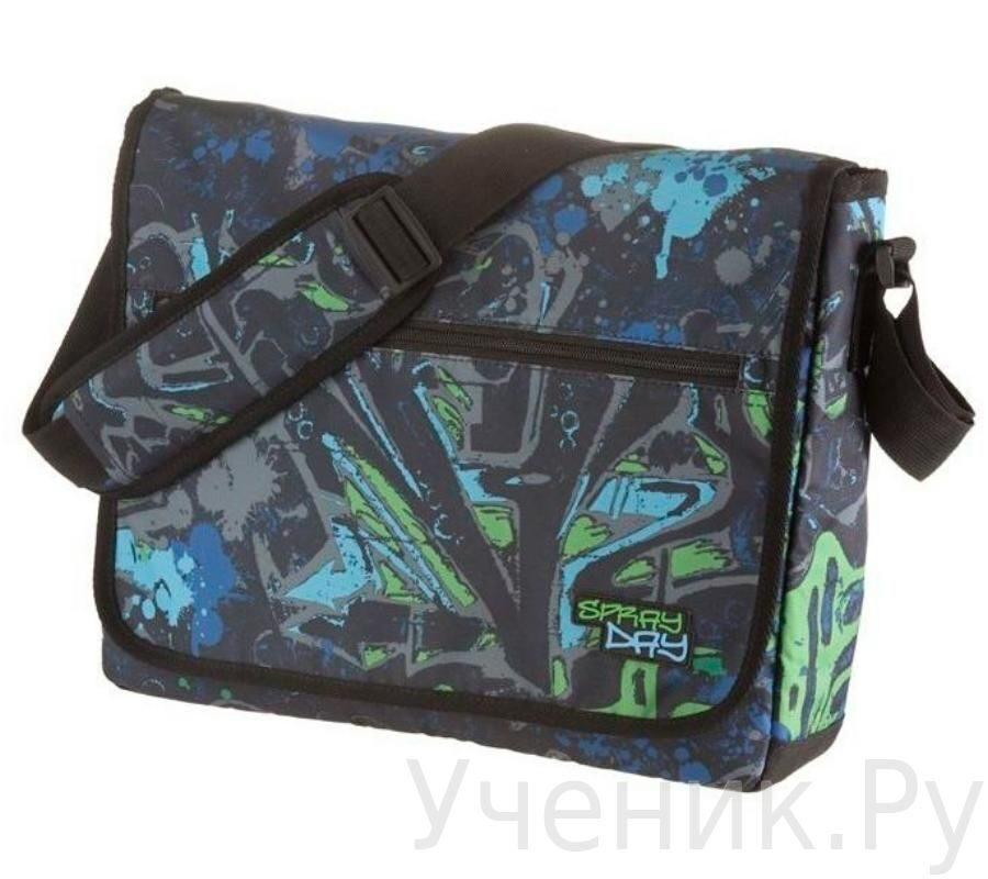 "Школьная сумка Walker ""Fun"" SPRAY DAY синяя Schneiders (Австрия) 42086/60"