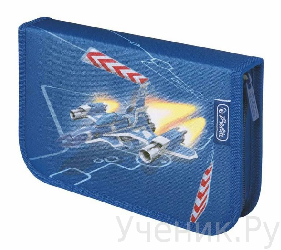 "Пенал школьный Herlitz ""SPACE SHIP"" (31 предмет) Herlitz (Германия) 11438660"