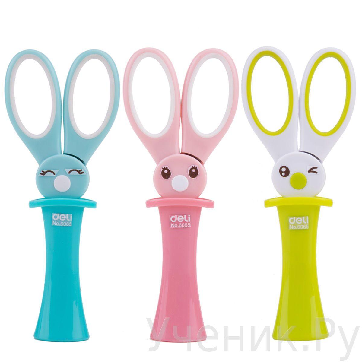 """Детские ножницы Deli """"Magic Rabbit"""" в чехле ассорти DELI GROUP CO (Китай) E6065"""