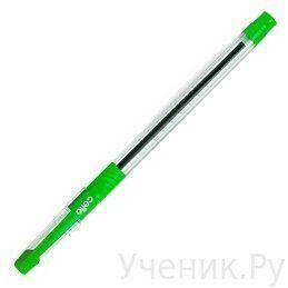 """Ручка шариковая Cello """"Slimo Grip"""" 0.6 мм зеленая CELLO (Индия) cello1"""