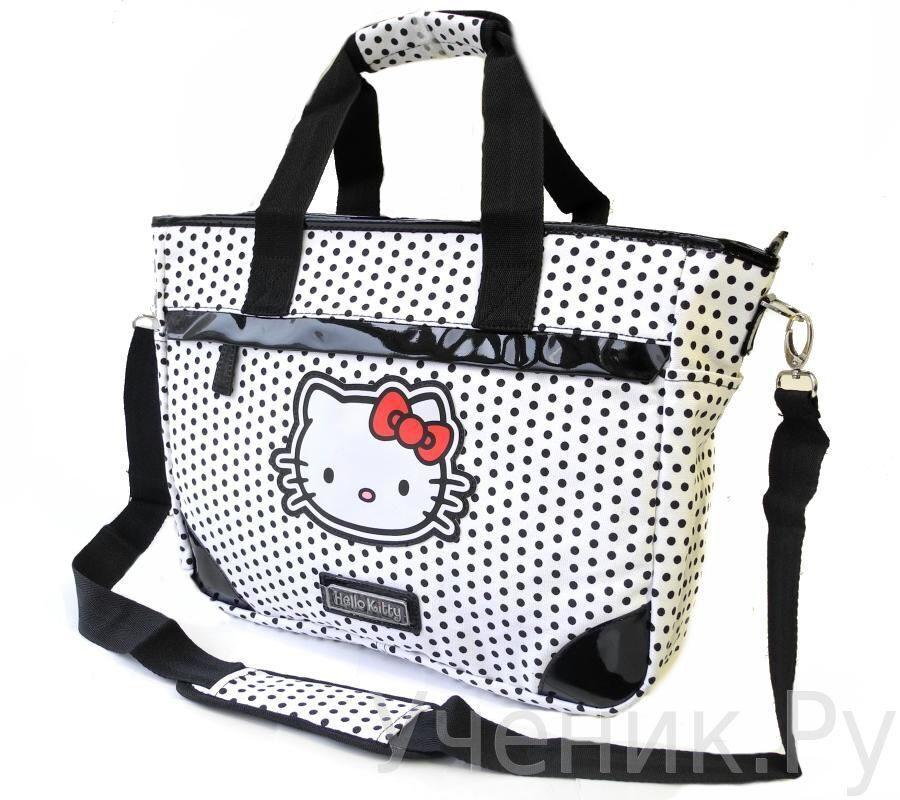 "Школьная сумка ""Hello Kitty"" Classic White 504-0042-HK-CW"