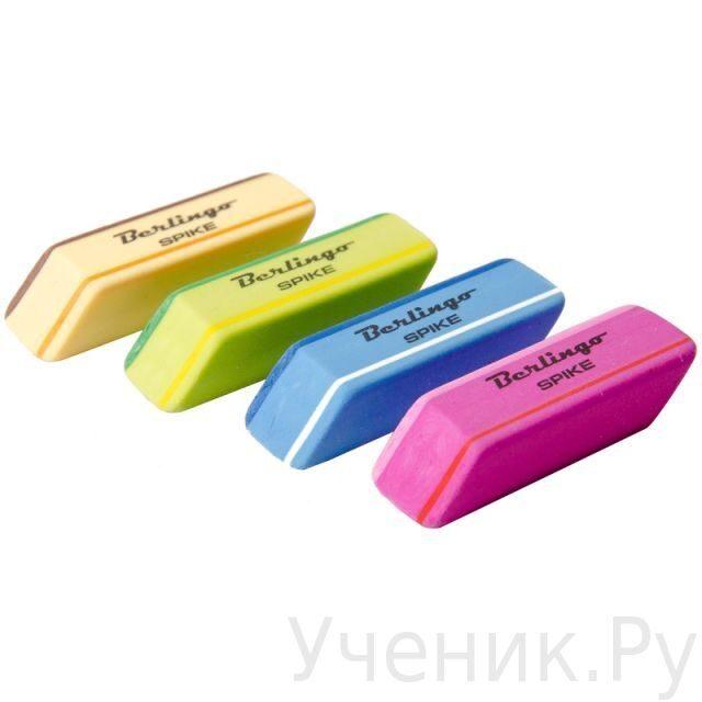 """Набор ластиков Berlingo """"SPIKE"""", 3 шт. Berlingo (Китай) BLc_00011"""