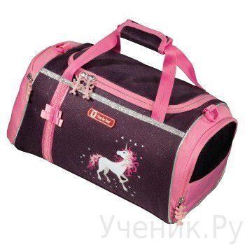 """Спортивная сумка Hama (Хама) """"Unicorn Flexline"""" баклажановый/розовый Hama (Германия) 119894"""