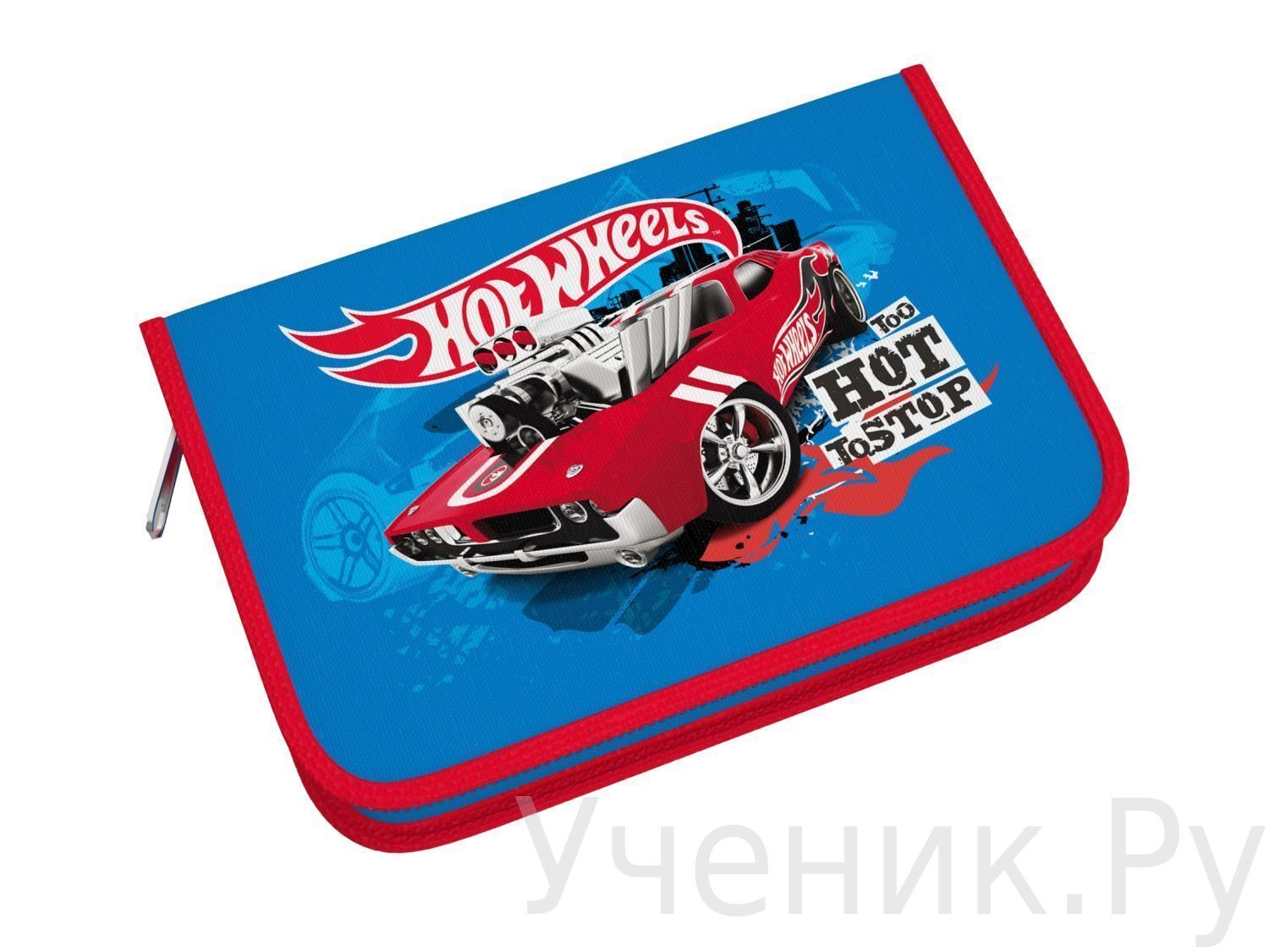"Пенал школьный Erich Krause ""Hot Wheels"" Erich Krause (Германия) 39167"