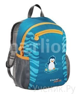 "Детский рюкзак Hama Step by Step ""Talent"" Penguin голубой Hama (Германия) 138427"