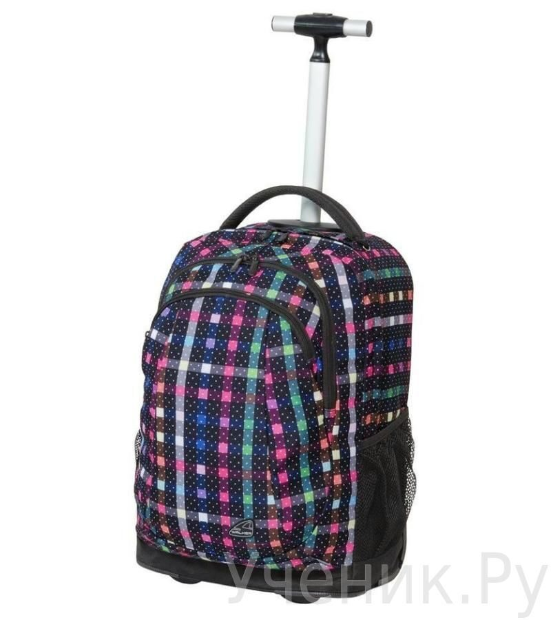 """Школьный рюкзак Walker """"Dizzy Dots"""" на колесах Schneiders (Австрия) 42481/116"""