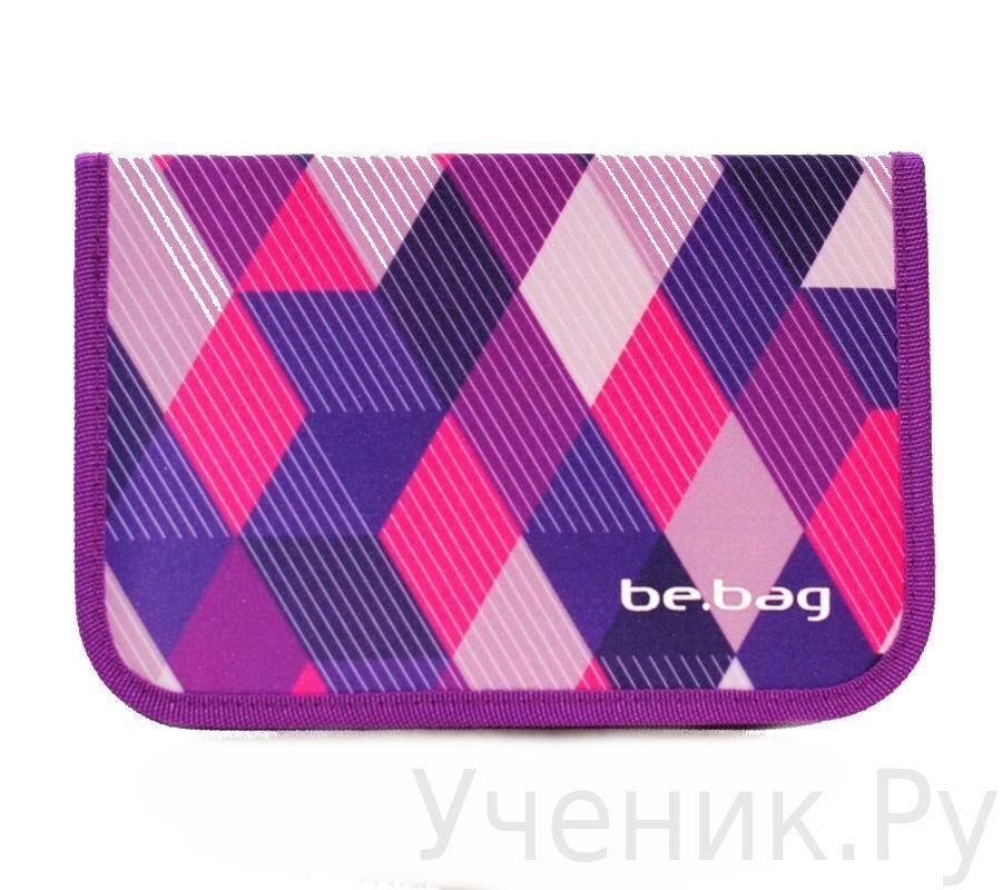 """Пенал школьный Herlitz Be.Bag """"Полосы"""" лилово-розовый (пустой) Herlitz (Германия) 11438504p"""