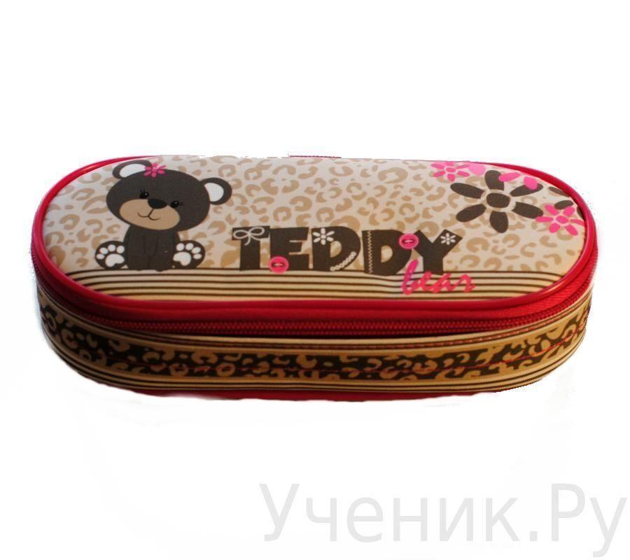 """Пенал школьный ONIX (Оникс) """"TEDDY"""" Оникс (Россия) ПМ25-20 11016"""