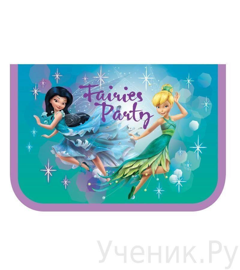 """Пенал школьный Erich Krause """"Fairie's Party"""" 34947"""