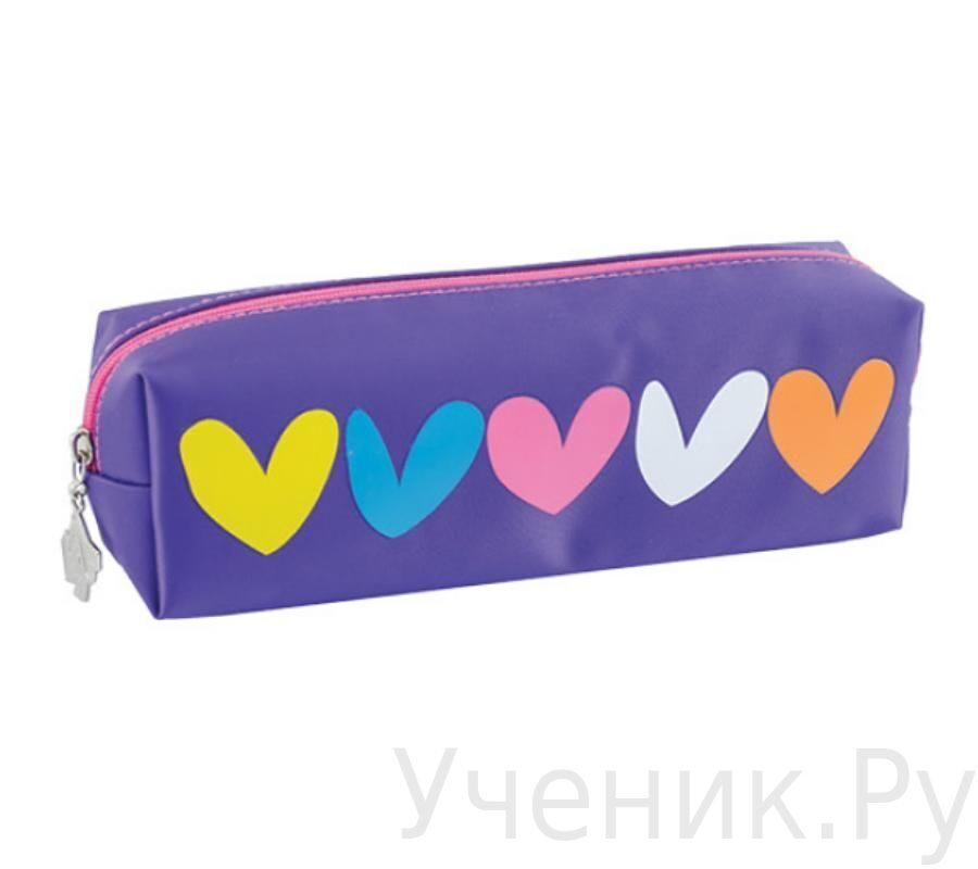 Пенал школьный YES Hearts T.S.C. (England) 531394
