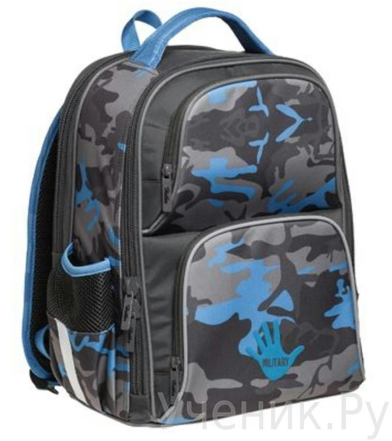 Школьный рюкзак Hatber модель Comfort КАМУФЛЯЖ NRk_11040