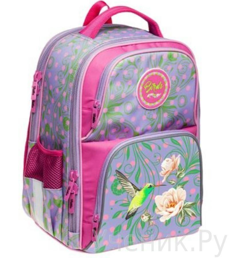 Школьный рюкзак Hatber модель Comfort РАЙСКИЕ ПТИЧКИ NRk_11039