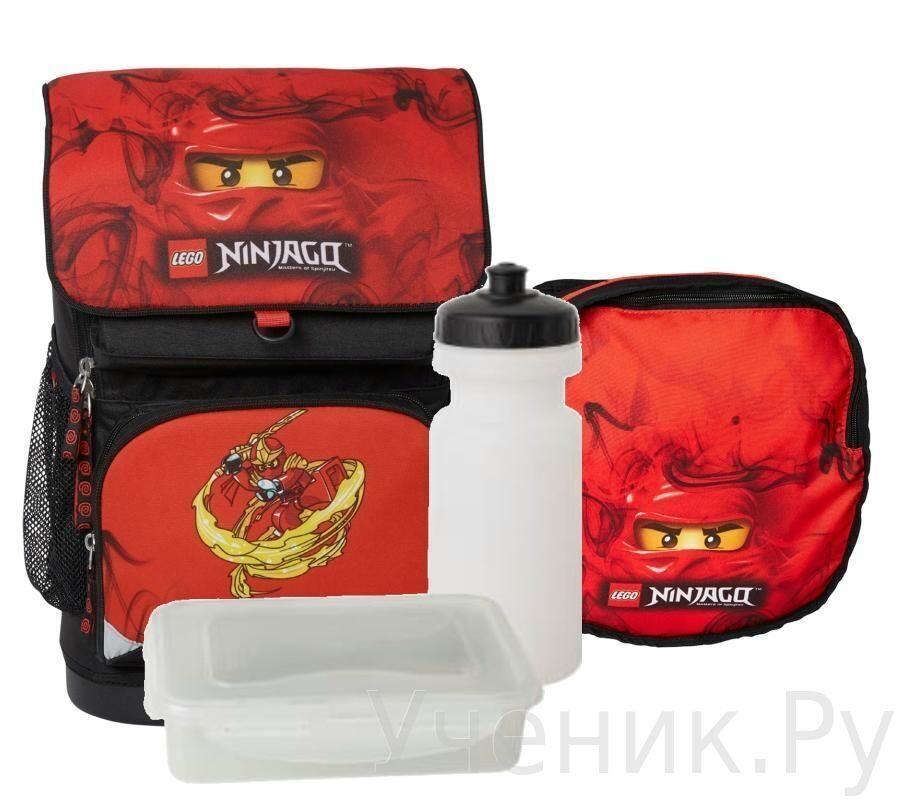 """Школьный рюкзак LEGO модель """"Small School Bag"""" NINJAGO KAI Lego (Дания) 16022"""