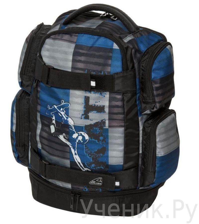 Школьный рюкзак Walker модель Rocket SKATE синий Schneiders (Австрия) 42410/70