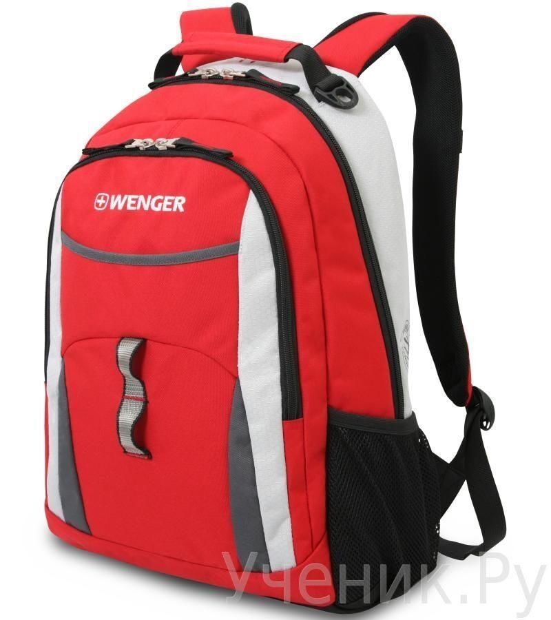 Школьный рюкзак WENGER красный/серый/серебристый WENGER (Швейцария) 3162114408