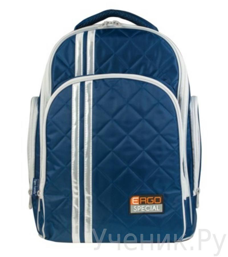 Школьный рюкзак TIGER FAMILY Полосы темно-синий 225563