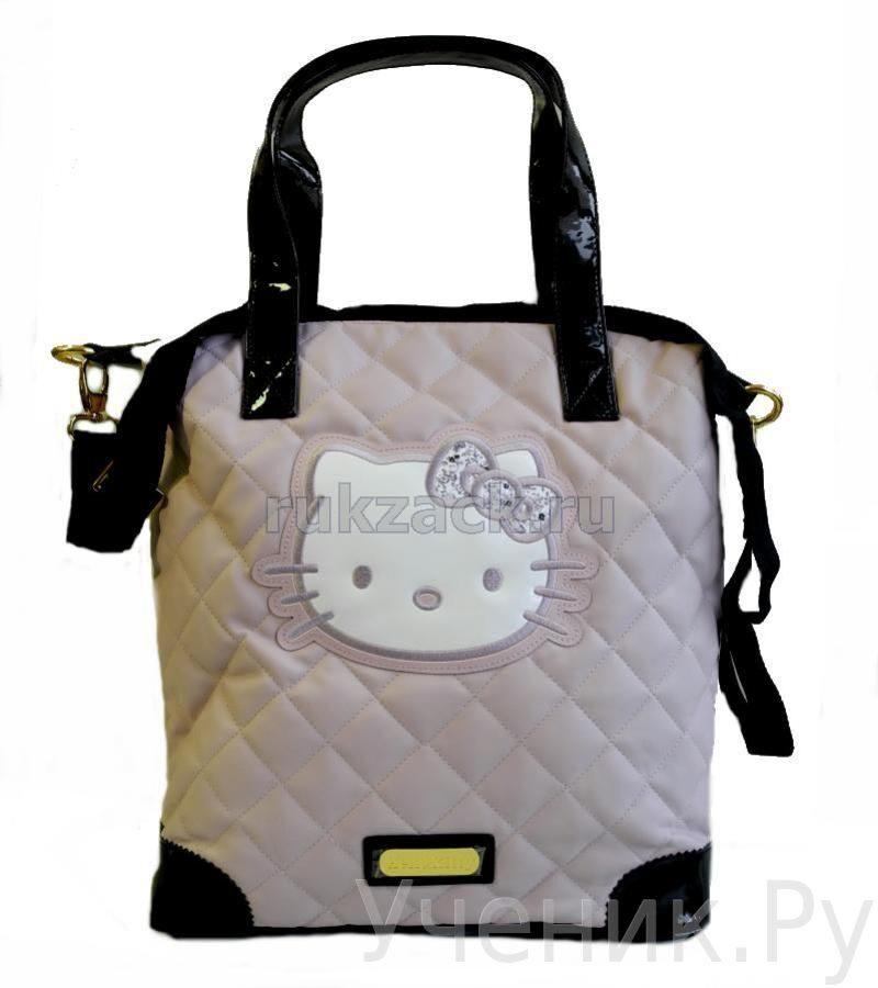 """Школьная сумка """"Hello Kitty"""" нежно-розовая 1033531роз"""