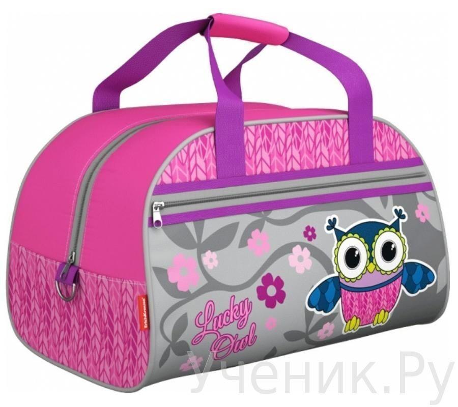 Спортивная сумка Erich Krause LUCKY OWL 42356