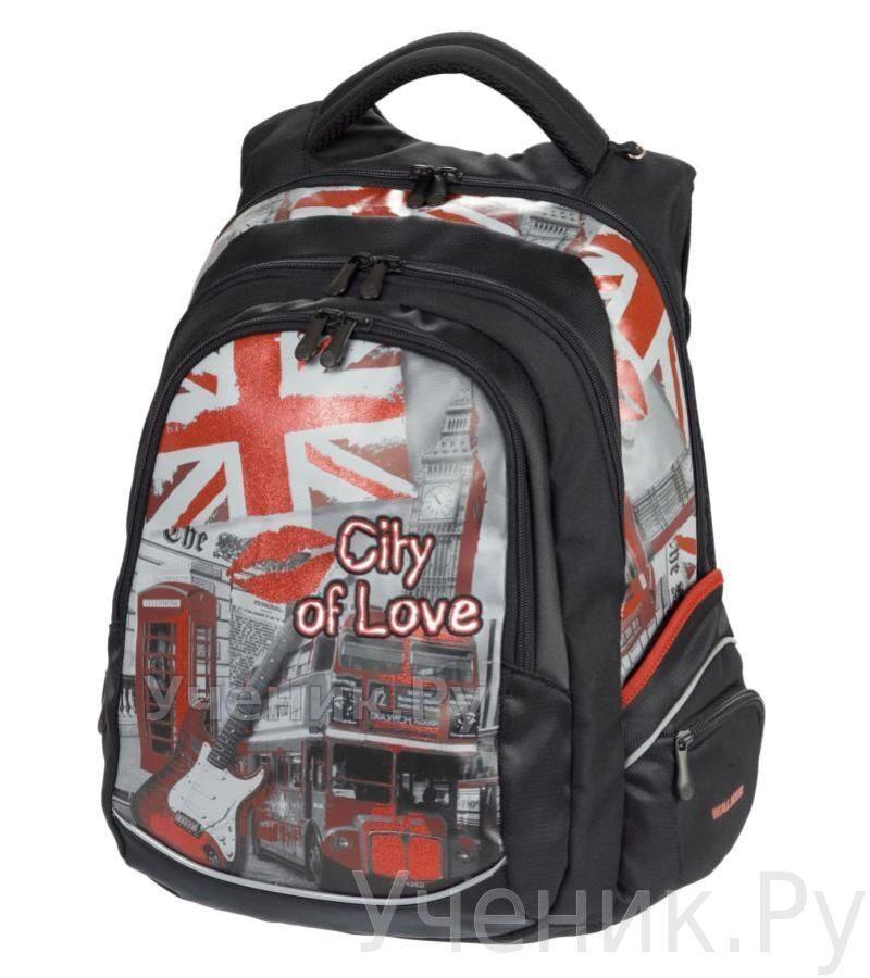 """Школьный рюкзак для девочки Walker """"City of Love"""" Schneiders (Австрия) 42647/80"""