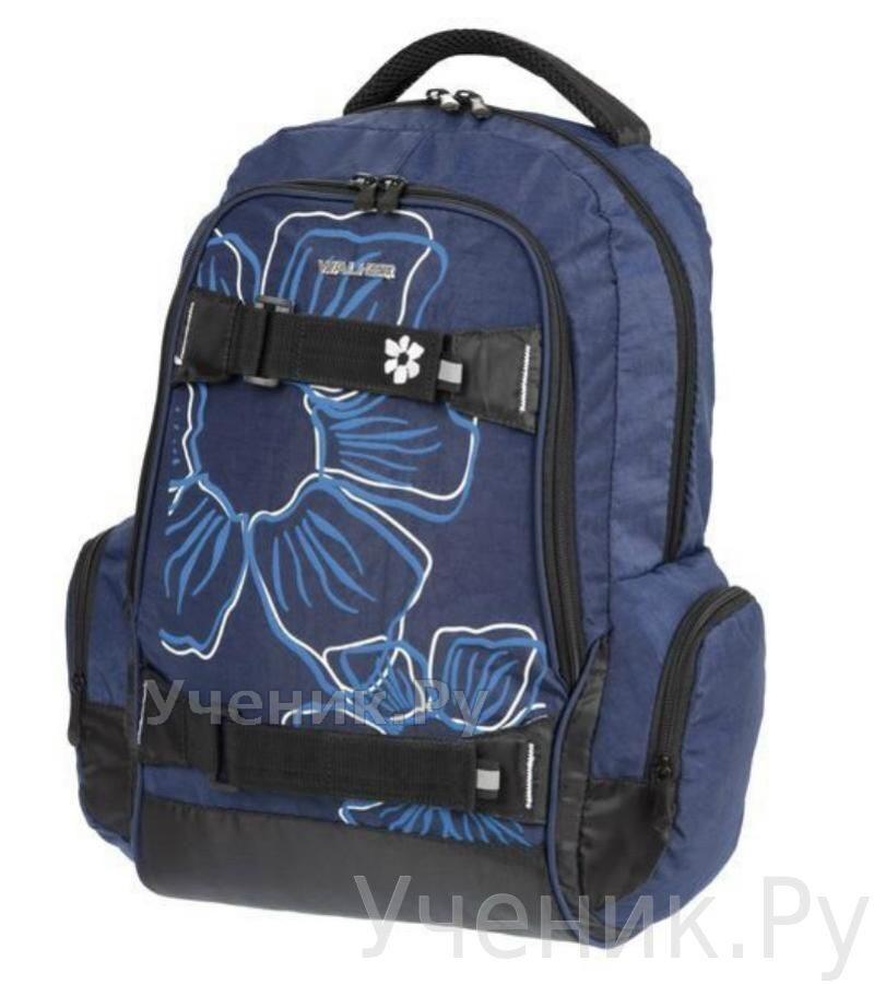 """Школьный рюкзак Walker """"Flower"""" синий Schneiders (Австрия) 42700/70"""